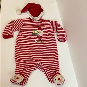 Santa Suit for Baby- size 3-6 months...like NEW!!!